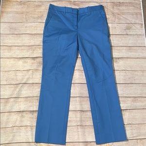 GAP Tailored Crop Pants Size 2r Blue